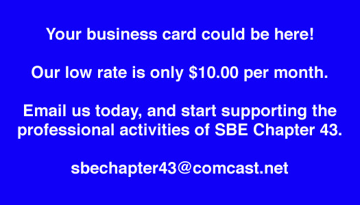 SBE 43 Electronic Newsletter